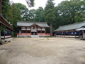 木津川市の御霊神社